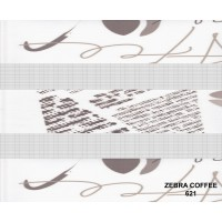 Rolete zebra COFFEE